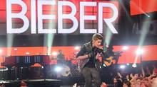 "An image from the taping of ""This is Justin Bieber"" on TLC (TLC)"