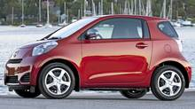 2012 Scion iQ. (Bill Petro/Richard Russell for The Globe and Mail)