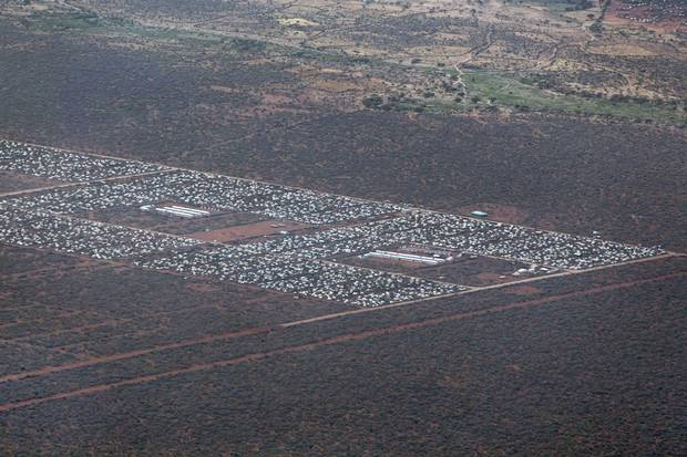Dadaab, shown in 2012, is the world's largest refugee camp. The Kenyan government is pushing hard to close Dadaab by the end of May, pressing refugees to return to Somalia.