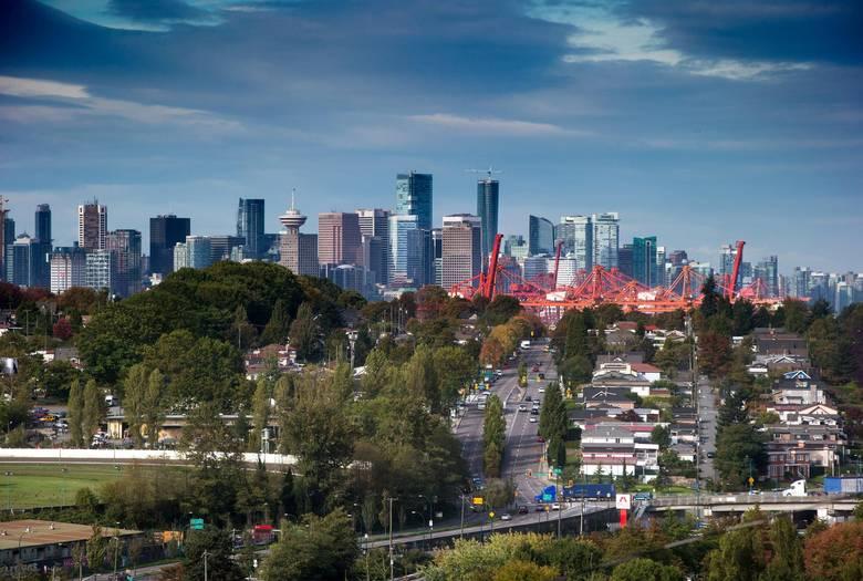 Vancouver's skyline.