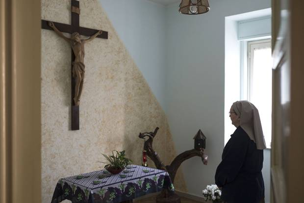 Sister Valeria lives in a simple apartment overlooking Palermo's Ballarò market. She spent 20 years in Africa as a member of Comboni Missionary Sisters before returning to Italy. She has lived in Palermo since 2009.