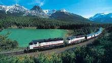 The Rocky Mountaineer wends its way through the Canadian Rockies. (Rocky Mountaineer Vacations/Rocky Mountaineer Vacations)