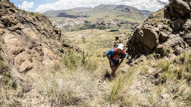 Unlike the relatively smooth courses of urban races, ultramarathons often require participants to contend with rough and inclined surfaces.