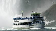 The contract for operating the Maid of the Mist boat tours in Niagara Falls has been given to the Hornblower Canada Company, a division of a U.S. firm. (The Canadian Press/The Canadian Press)