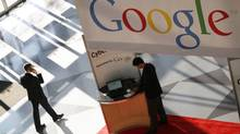Research firm eMarketer predicted that Google will soon surpass Facebook in display-ad revenue. (Mark Lennihan/AP)