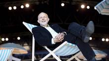Bard on the Beach artistic director Christopher Gaze on the set of Twelfth Night in Vancouver, June 4, 2013. The Bard on the Beach Shakespeare Festival will this year mic its actors in the mainstage tent. (John Lehmann/The Globe and Mail)
