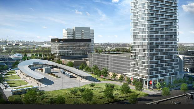 Transit City in Vaughan, Ont., is one part of a master-planned 100-acre residential and office space development that will be located around a new TTC station.