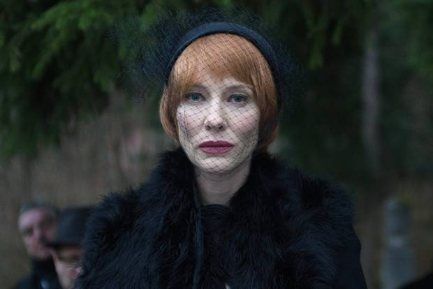 In Manifesto, Cate Blanchett takes on the personas of 13 different people.