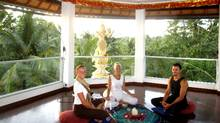 Finding serenity at White Lotus meditation studio in Ubud, Bali. (PETER JANISZEWSKI/PETER JANISZEWSKI)