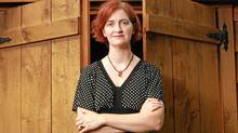 Emma Donoghue at her home in London, Ont. (The Globe and Mail)