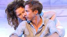Jonathon Young with Rachel Cairns in Ophelia