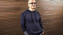 New Microsoft chief executive Satya Nadella will face a few hard decisions about the company's mobile and software divisions. (REUTERS)