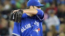 Toronto Blue Jays starting pitcher Brandon Morrow (Nathan Denette/THE CANADIAN PRESS)