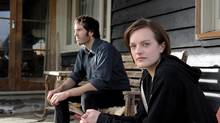 Thomas M. Wright and Elisabeth Moss star in Jane Campion's new crime series Top of the Lake. (Parisa Taghizadeh/Handout)