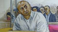 The second-degree murder trial of Mukhtiar Panghali shown here continues in B.C. Supreme Court. (Felicity Don for The Globe and Mail/Felicity Don for The Globe and Mail)