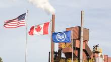 File photo of U.S. Steel Canada (formerly Stelco) in Hamilton. (Glenn Lowson for The Globe and Mail)