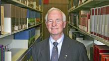 University of Waterloo president Governor-General-designated David Johnston, shown at the University of Waterloo campus library in April, 2006. (Jim Ross/The Globe and Mail/Jim Ross/The Globe and Mail)