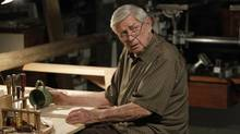 "This photo released by CBS shows Ralph Waite, as Jackson Gibbs, in an episode ""The Namesake"" from ""NCIS,"" on the CBS television network. (Cliff Lipson/AP)"