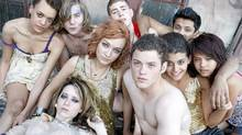 "The cast of the American version of ""Skins"""
