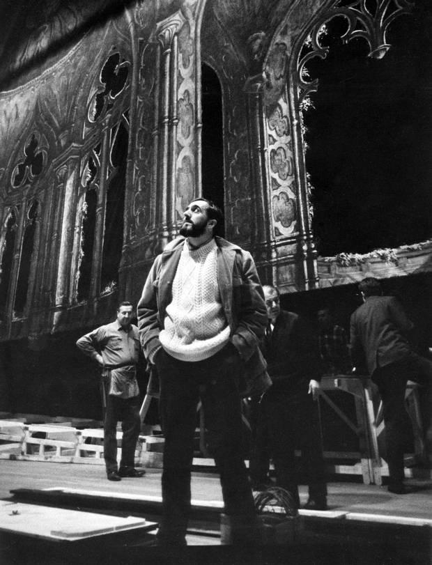 Desmond Heeley, March 1967.