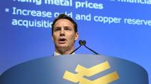 The logo of Barrick Gold Corp. is seen in this file photo. (MIKE CASSESE/REUTERS)
