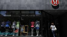 A Lululemon store in downtown Toronto. (Fred Lum/The Globe and Mail)