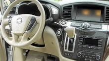 Inside the 2011 Nissan Quest (Ted Laturnus for The Globe and Mail)