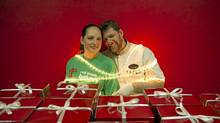 Anna and Dave Hambly are the Canadian owners of Red Moon Bakery which opened its doors in New Delhi, 2007. (Lana Slezic/Lana Slezic)