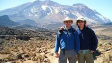 Tim Ward and his son Josh – who climbed Mt. Kilimanjaro together (Handout)