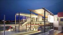 A rendering of the Blair station on the proposed new transit line in Ottawa. (Handout)