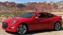 2013 Hyundai Genesis Coupe (Petrina Gentile for The Globe and Mail/Petrina Gentile for The Globe and Mail)