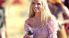 "On Sunday, February 3, 2002, during the Superbowl, Pepsi-Cola North America unveils a new Britney Spears commercial for its flagship brand. After appearing in other Pepsi commercials, Britney Spears is back with a 90-second blockbuster that will debut during the first quarter of Sunday's game. The spot, called ""Now and Then, "" takes viewers on a ride through Pepsi's advertising history - the Pepsi Generations. Spears adds her unique flair to Pepsi commercials from the 1950s, 60s, 70s, and 80s and brings the viewer to 2002 with her updated version of the ""Joy of Pepsi"" song."