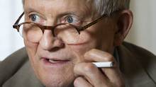 British artist David Hockney, 74, in Toronto, Ont. Oct. 20, 2011. (Kevin Van Paassen/Kevin Van Paassen/The Globe and Mail)