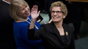 Ontario Premier Wynne calls for 'fair society,' gives rivals spots in cabinet shakeup