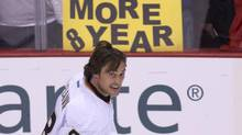 Anaheim Ducks right wing Teemu Selanne (JONATHAN HAYWARD/The Canadian Press)