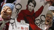 Former prime minister Yula Tymoshenko's 2011 conviction fueled the Ukrainian public's distrust of politicians and politics. (GLEB GARANICH/REUTERS)