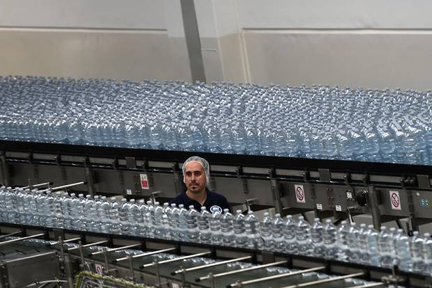 No government body is in charge of testing bottled water, which is classified as food and subject to the Food and Drugs Act.