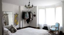 When Danielle Bryk remodelled her three-storey, semi-detached Edwardian home in Toronto's Beach neighbourhood, she decided to keep the master bedroom for herself – instead of giving it to her kids (Chloë Ellingson For the Globe and Mail)