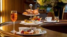 Breakfast served at the Carpe Diem Lounge-Cafe at Hangar-7 in Salzburg, Austria on January 21, 2014.