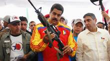 President Nicolas Maduro is facing a barrage of criticism about corruption in high places. (Carlos Garcia Rawlins/REUTERS)