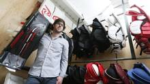 Should every manufacturer aspire to be carried on retail shelves? Quebec-based Passau Hockey Inc., run by Hugo Beaudry, fears the move could hurt his brand. (Christinne Muschi For The Globe and Mail)