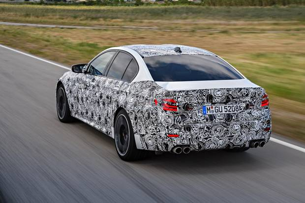 The new M5 has a finesse that wasn't seen in previous models.