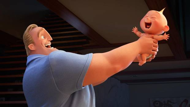 Craig T. Nelson voices Bob in Incredibles 2.