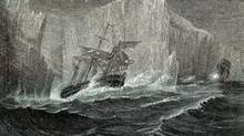 Franklin Expedition. Illustration from G. Hartwig. The Polar World (first published 1869) (Photos.com)