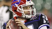 Quarterback Ryan Fitzpatrick of the Buffalo Bills. (Photo by Rick Stewart/Getty Images) (Rick Stewart/Getty Images)