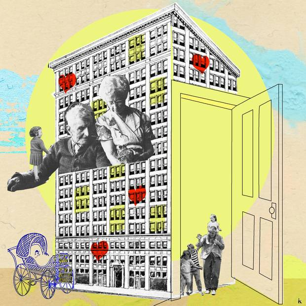 The Apartment People: At Our Apartment Building, The People That Live Around Us