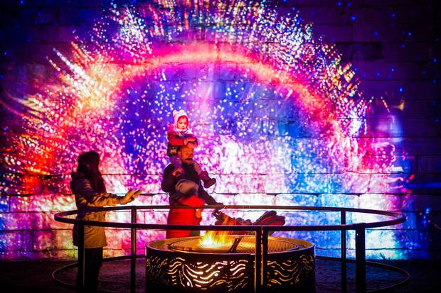 Last winter's Lumina Borealis proved so popular that it was extended by more than a month.