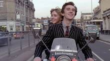 In the 1979 movie Quadrophenia, Leslie Ash as Steph and Phil Daniels as Jimmy ride on a Lambretta scooter. (© 1979 The Who Films Ltd.)