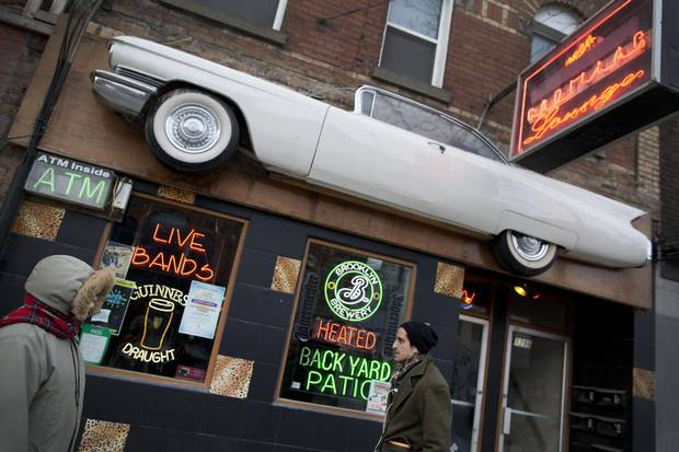 The Cadillac Lounge on Queen Street West is to be sold even though the club's propriator also owns the building. 'I'm still struggling to make the business happen and get people in the door,' owner Sam Grosso says.