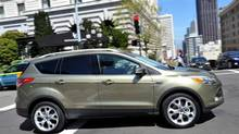 2013 Ford Escape features a hands-free liftgate. (Ford)